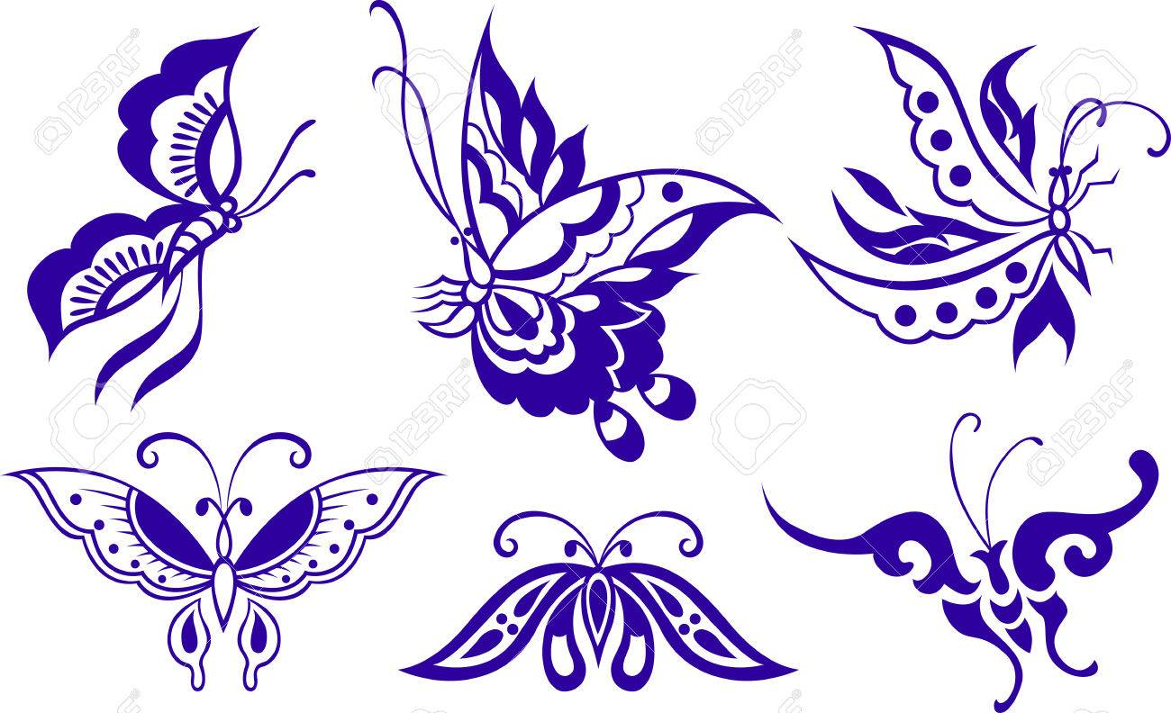 butterfly illustration Stock Vector - 8196883