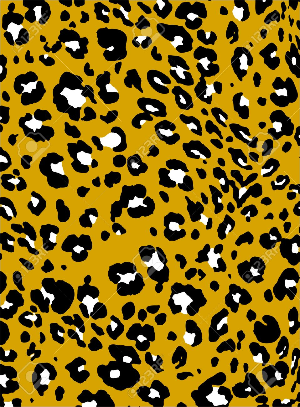 abstract animal print backdrop pattern Stock Vector - 8340159