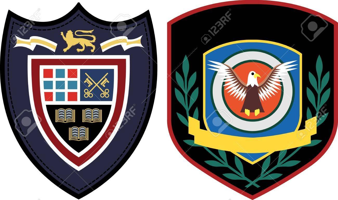 emblem patch design Stock Vector - 9594468