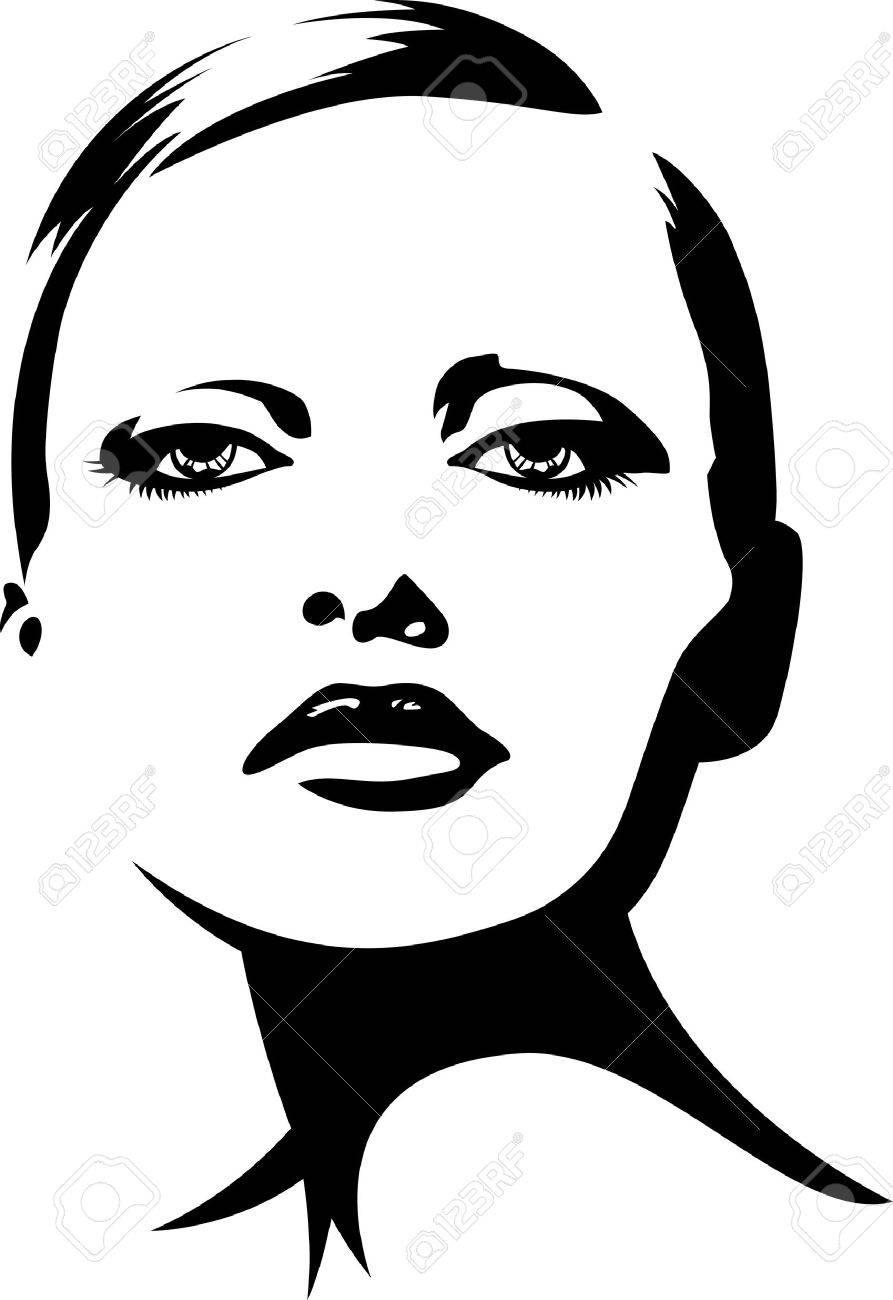 woman illustration Stock Vector - 10700649