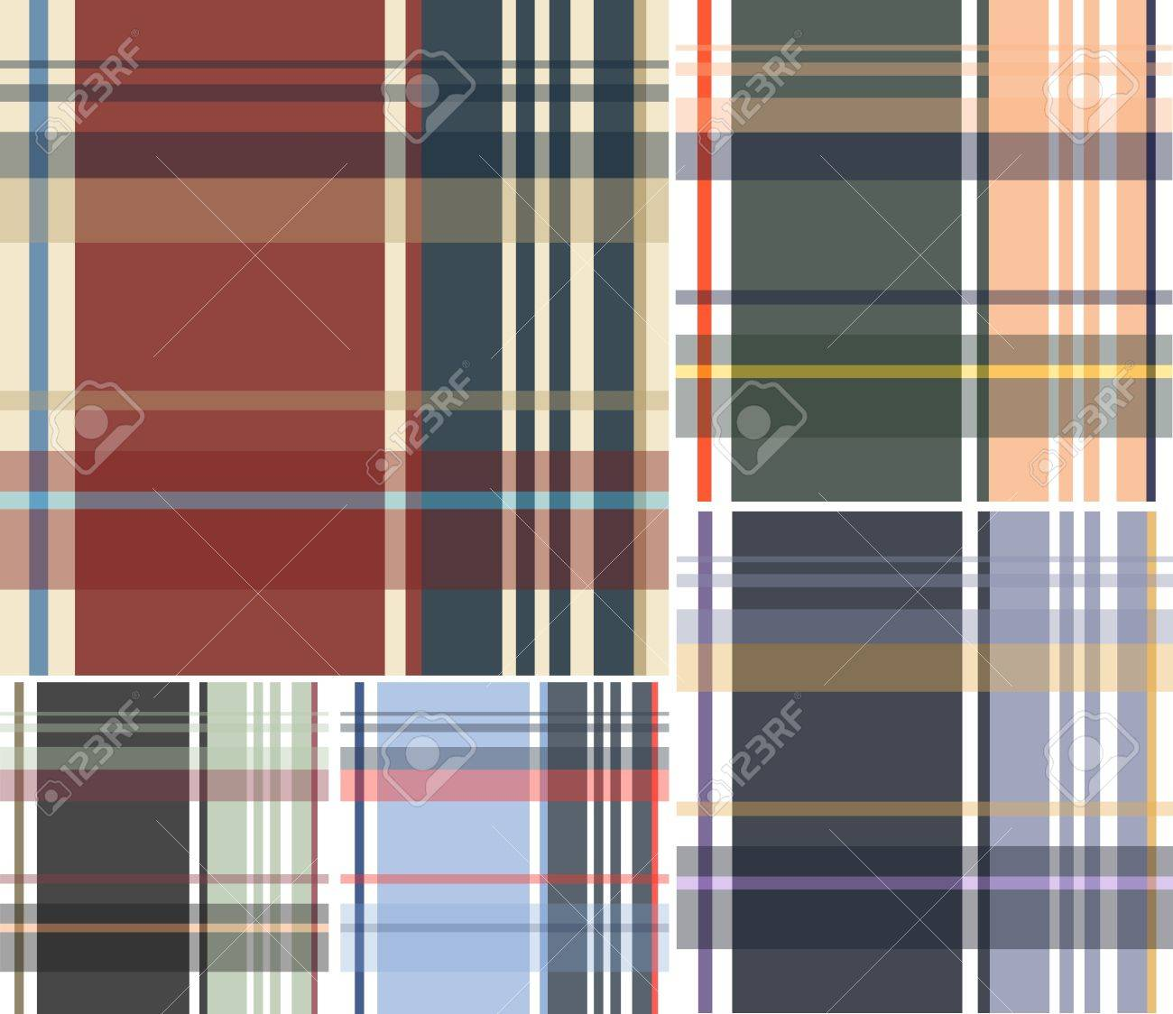 check fabric textile pattern Stock Vector - 10797136
