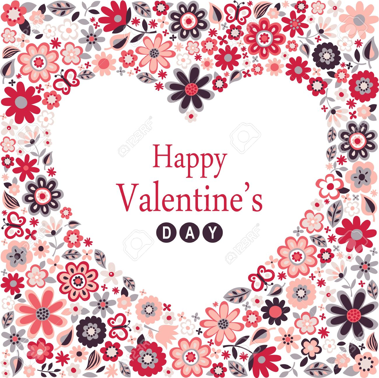 Happy Valentines Day Card Royalty Free Cliparts Vectors And Stock