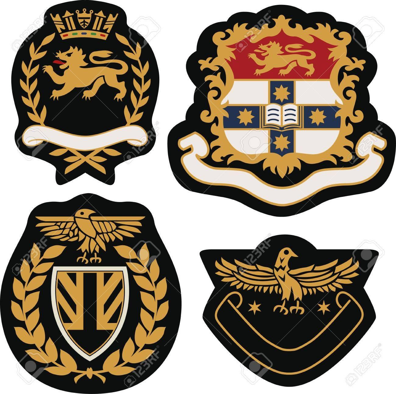 royal emblem badge shield Stock Vector - 20406441