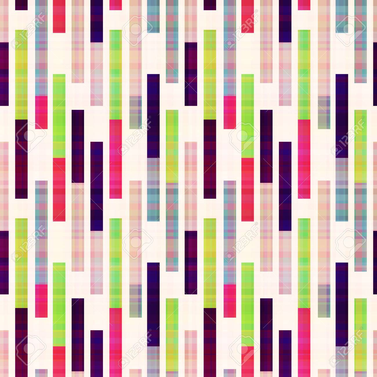 seamless abstract geometric striped pattern - 22386738