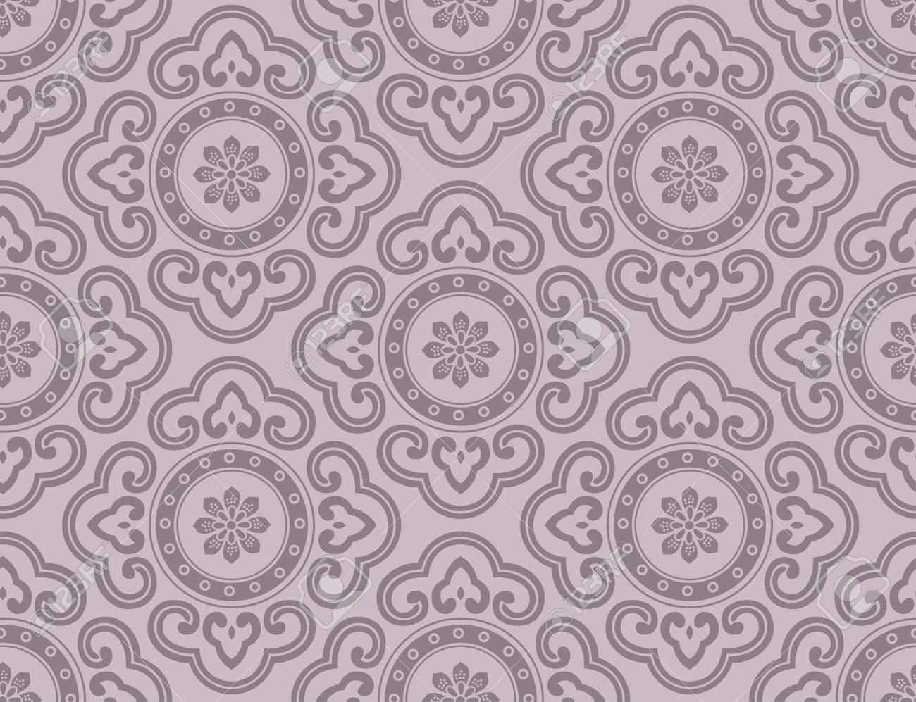 seamless ornament background Stock Vector - 23558565