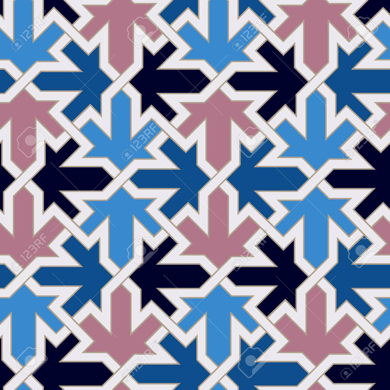 seamless moroccan islamic tile pattern Stock Vector - 24249900