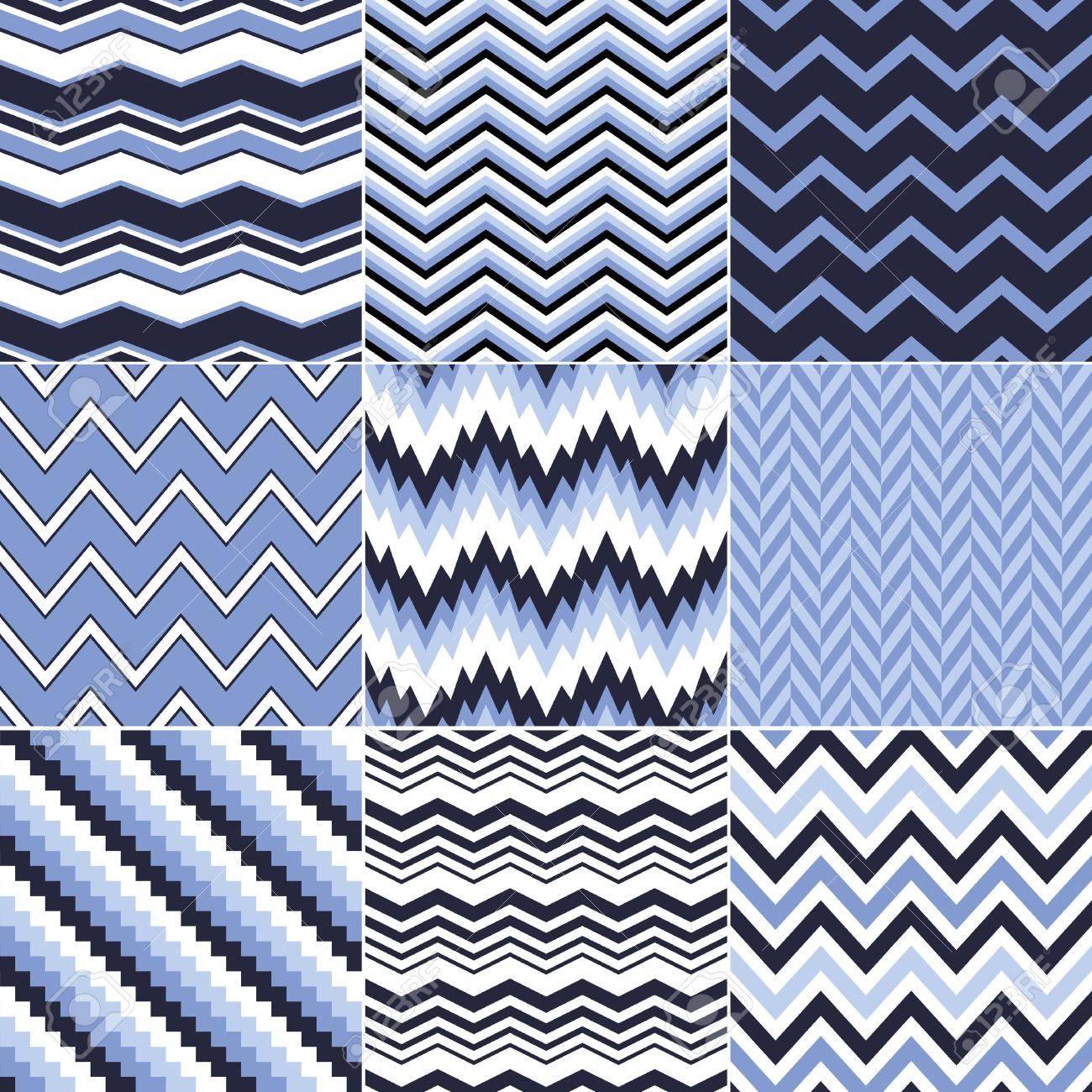 seamless chevron pattern Stock Vector - 24374067