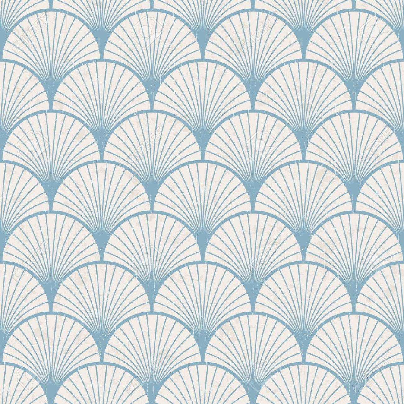 seamless retro japanese pattern texture Stock Vector - 24374071
