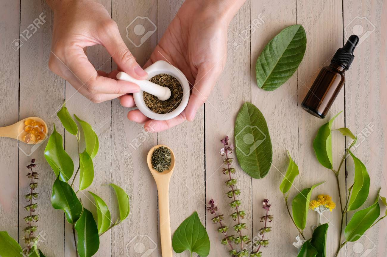 herbal organic medicine product. natural herb essential from nature. - 111803355