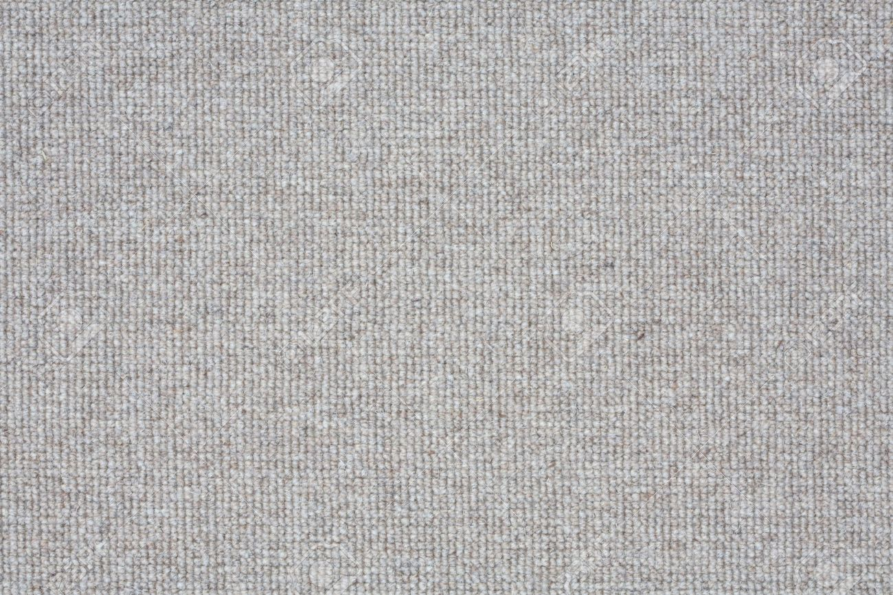 Light Grey Carpet Closeup Suitable For A Soft Textured Background Stock Photo