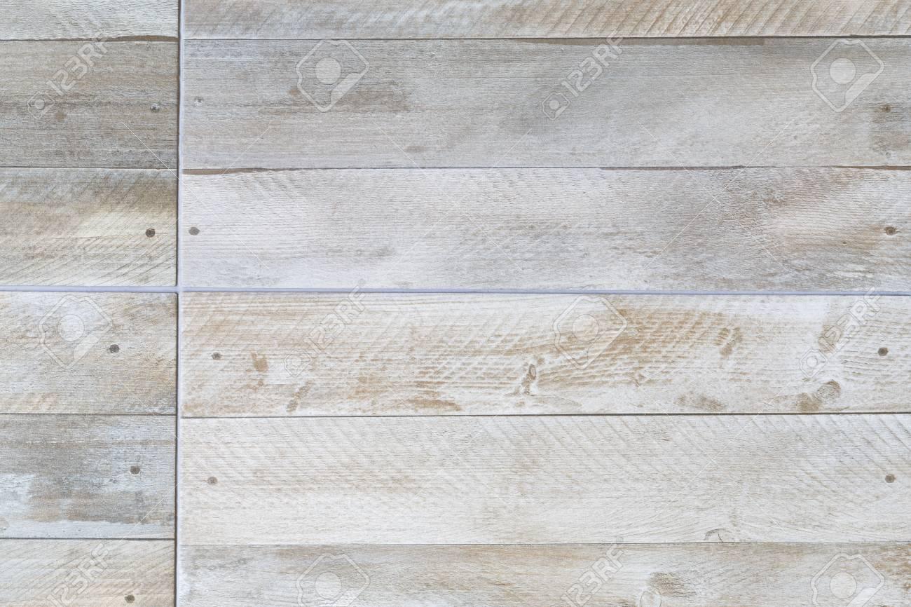 closeup of porcelain floor tiles with wood plank floorboard effectcloseup of porcelain floor tiles with wood plank floorboard effect texture pattern stock photo