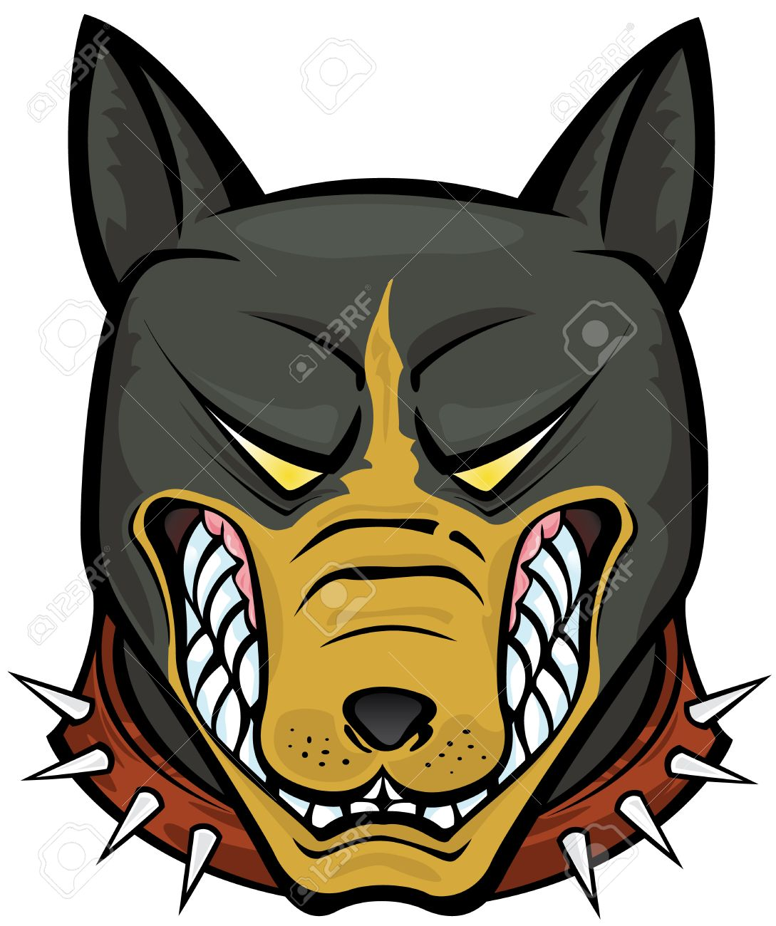 Pit Bull Terrier vector illustration Stock Vector - 4488462