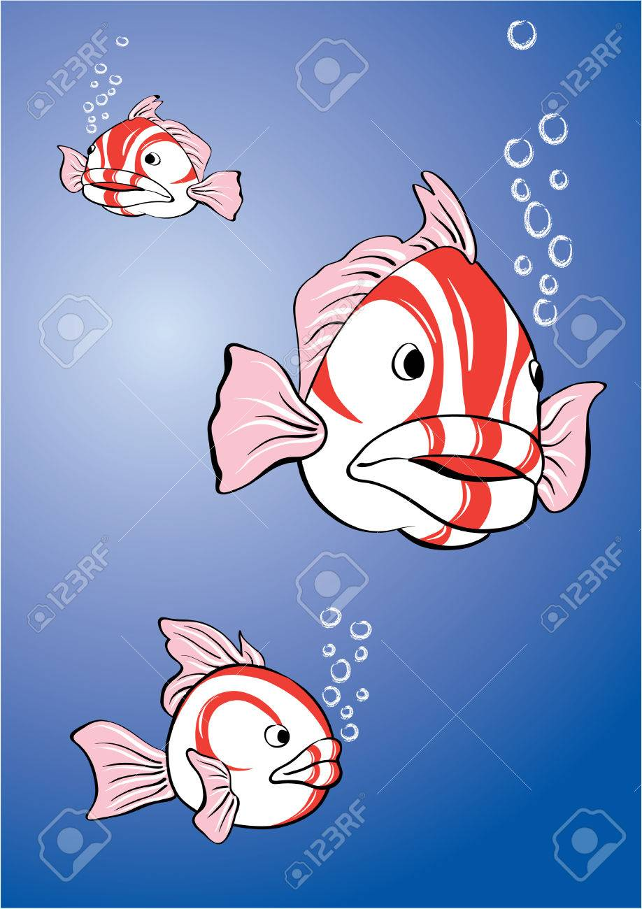White-red fish Stock Vector - 2795976