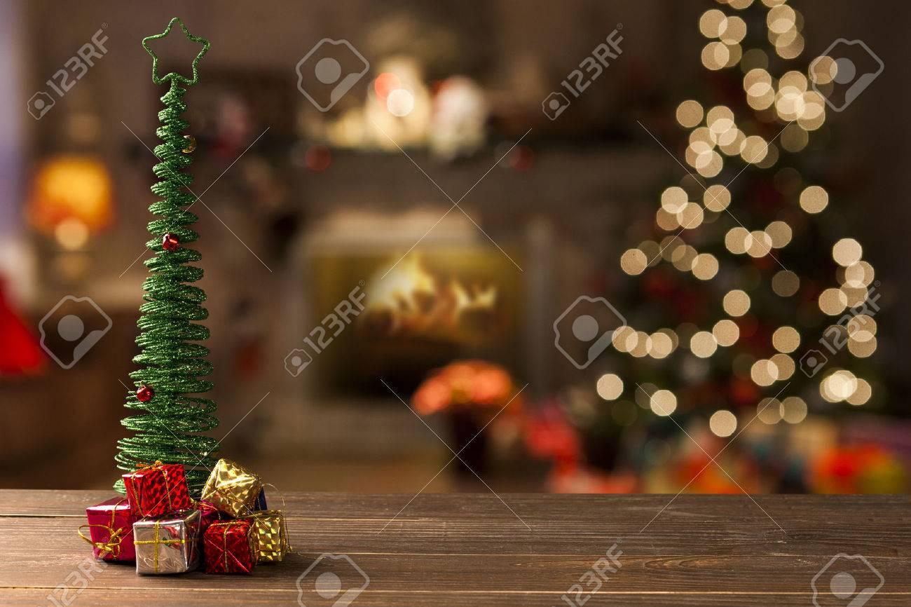 christmas decoration background. Christmas Blurry - 51087016