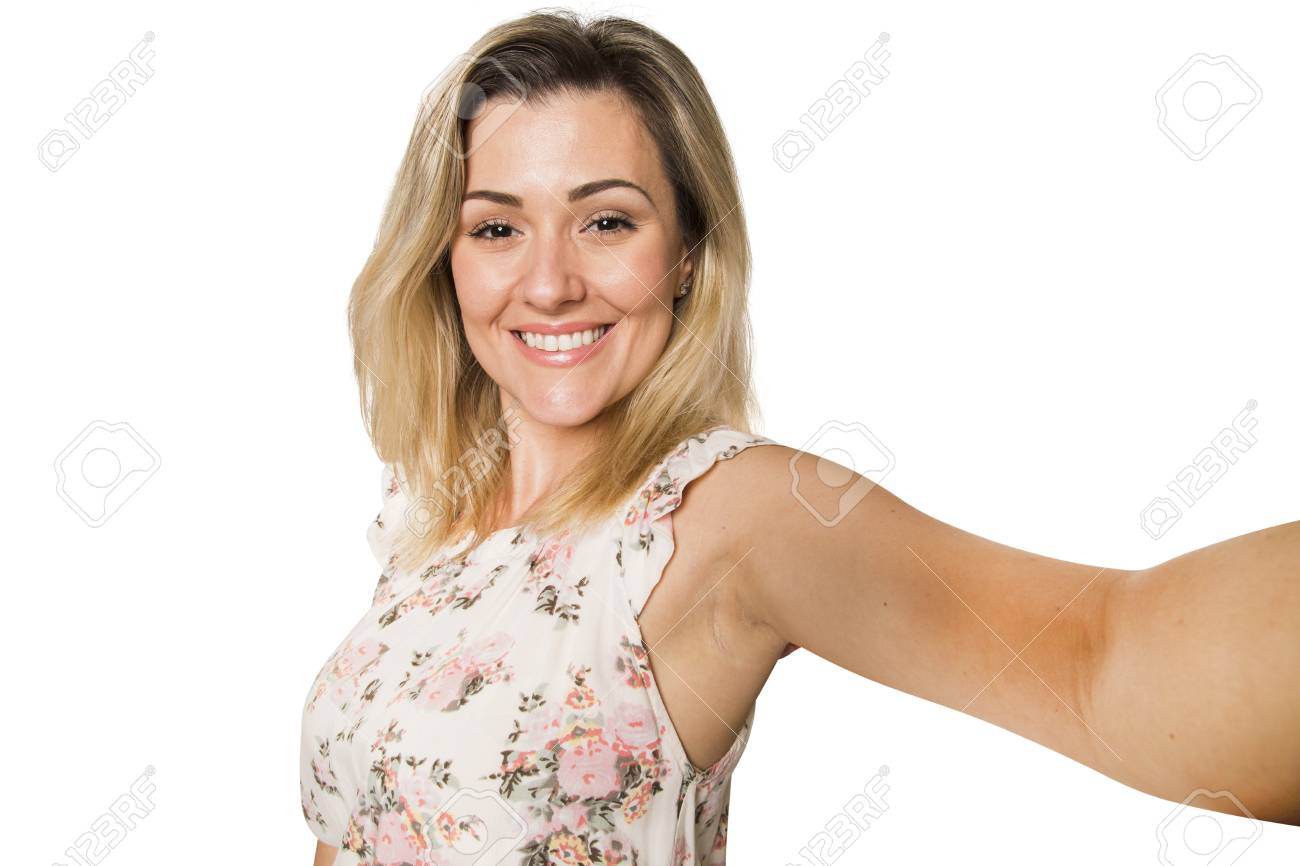 Free self shot pictures Young Pretty Fashion Blonde Woman Taking Self Shot Photo Selfie Stock Photo Picture And Royalty Free Image Image 56830613
