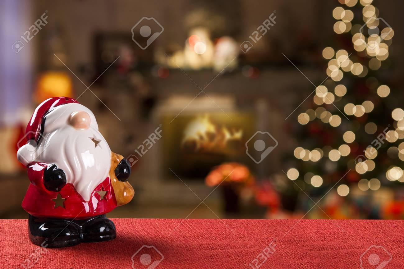 Decoración Navideña Fondo Borroso De Navidad Fotos Retratos