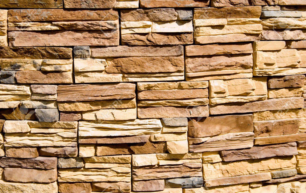 good Decorative Stone Wall Part - 2: Decorative Stone wall texture Stock Photo - 2867522