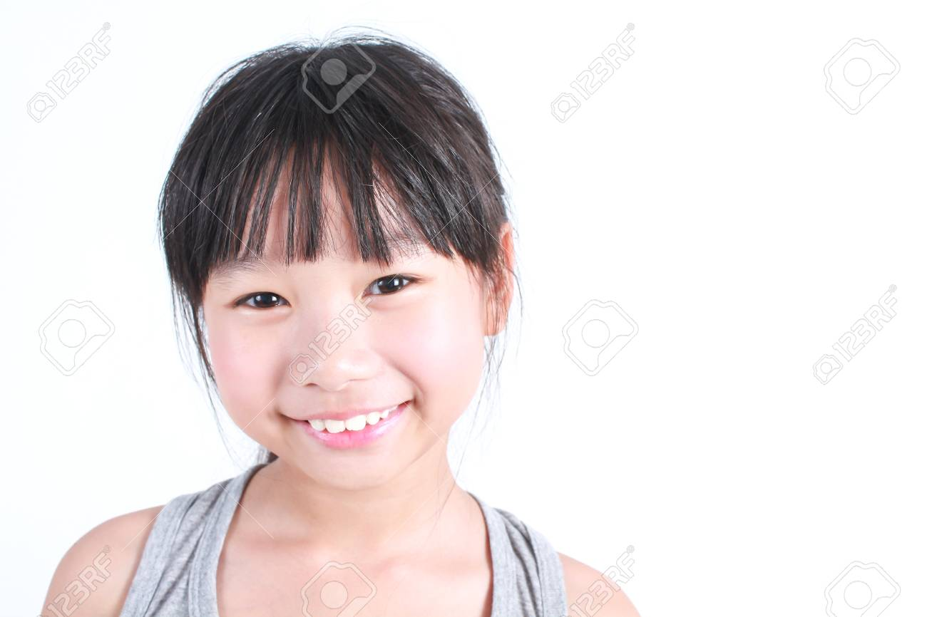 Asian girl small