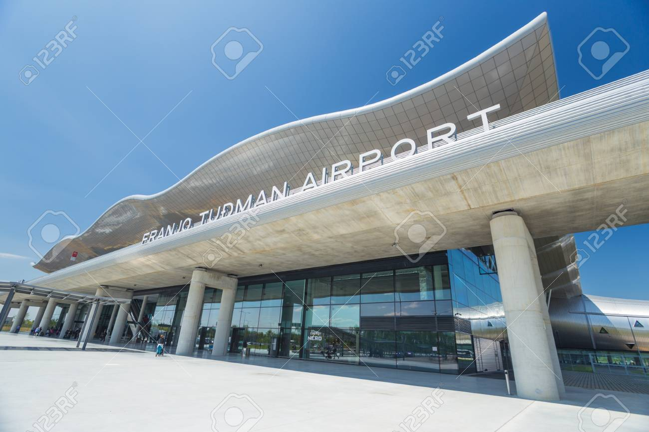 Zagreb Airport 24 April 2017 Entrance To Franjo Tudjman Airport Stock Photo Picture And Royalty Free Image Image 90727663