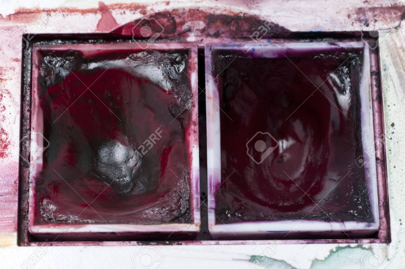 watercolor pads used for painting in fine arts Stock Photo - 6443993