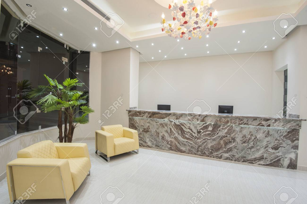 Interior Design Of A Luxury Hotel Resort Lobby Reception Area Stock Photo Picture And Royalty Free Image Image 63181711