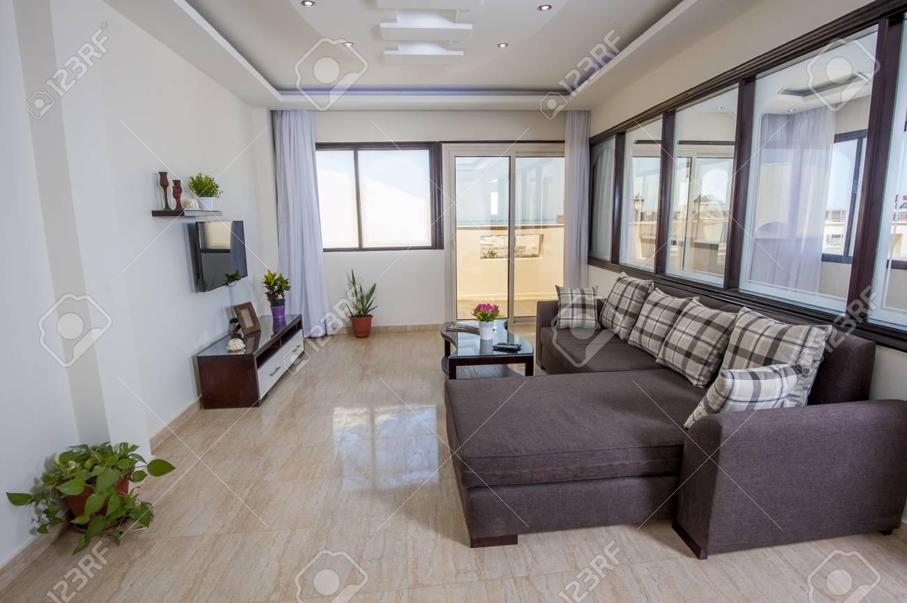salle de séjour dans un salon d'appartement de luxe à la maison