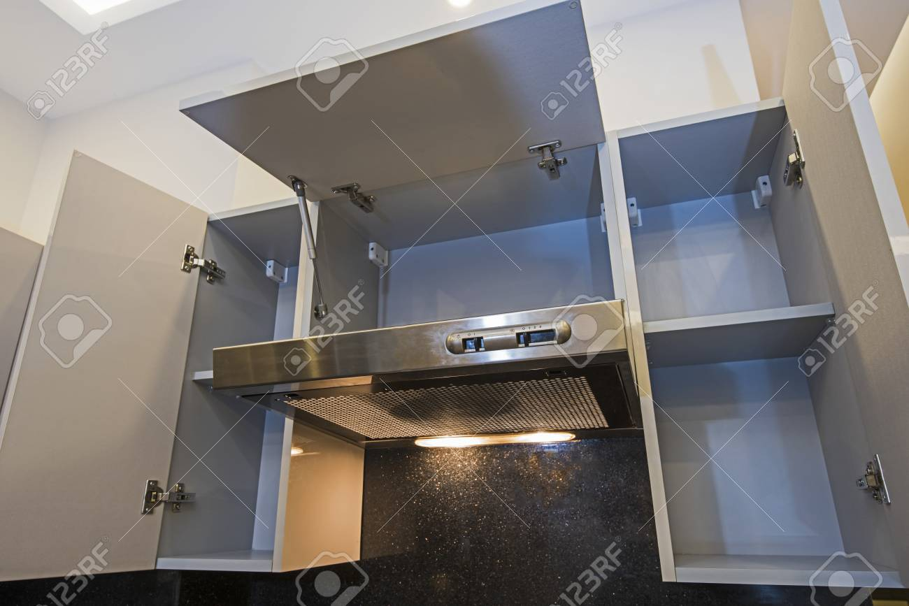 Image of: Interior Design Decor Of Modern Kitchen Showing Extractor Fan Stock Photo Picture And Royalty Free Image Image 115589906