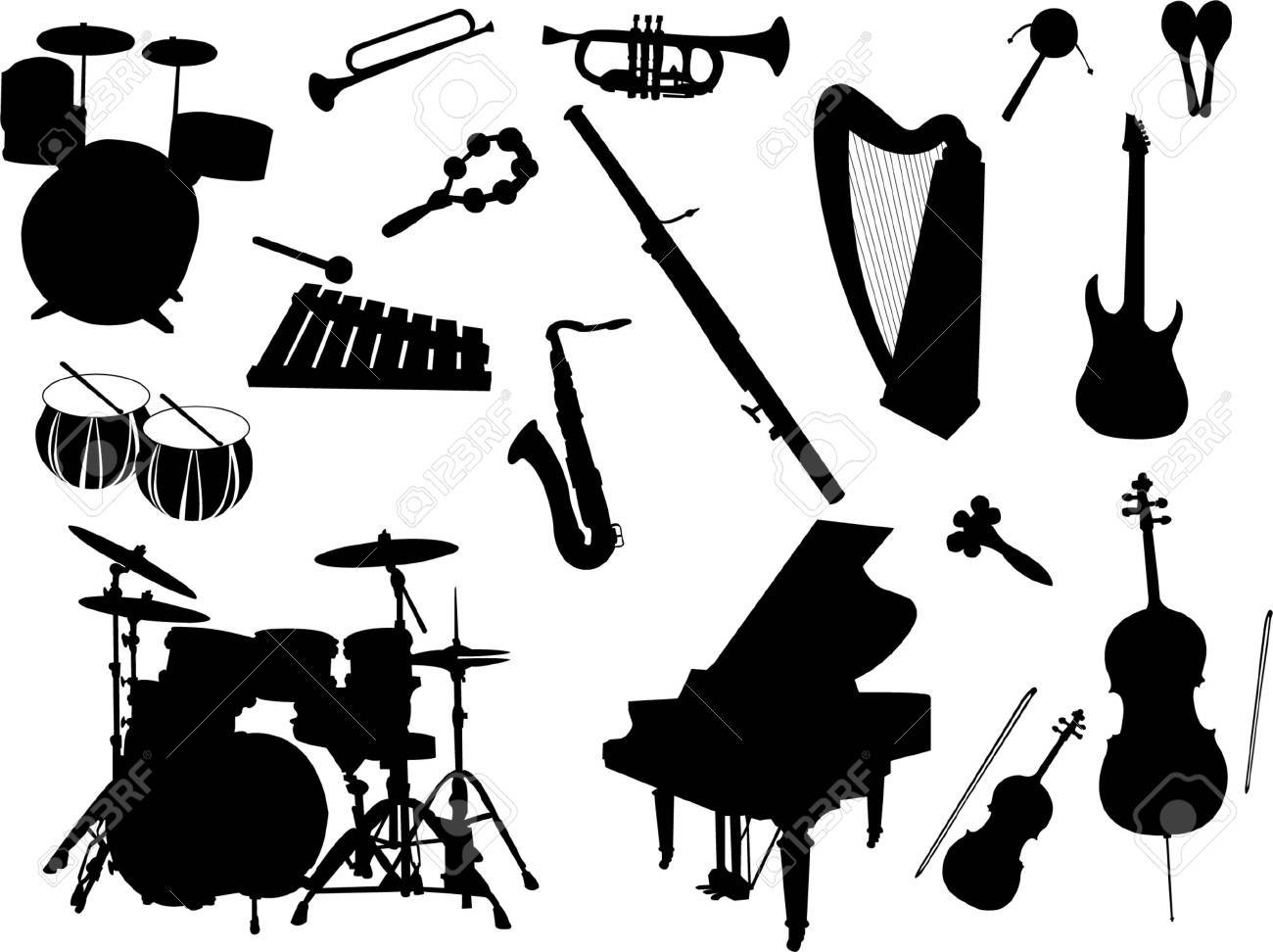 musical instruments Stock Vector - 8023711
