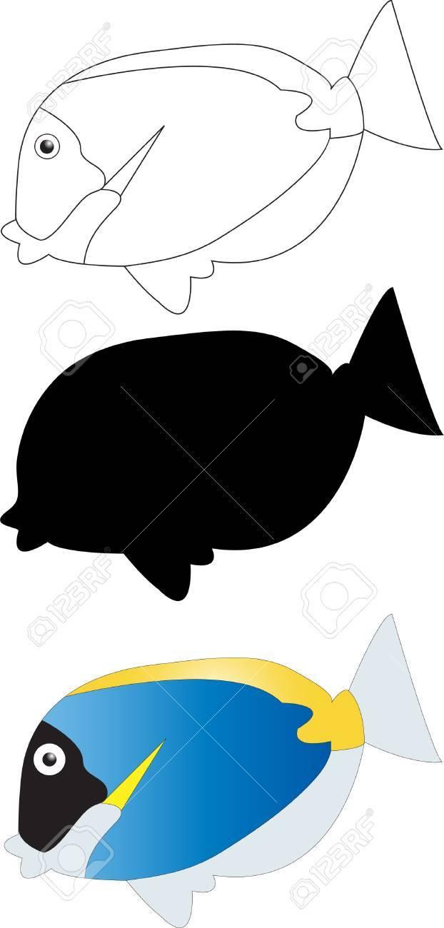 Illustration of fish 2 Stock Vector - 15498221