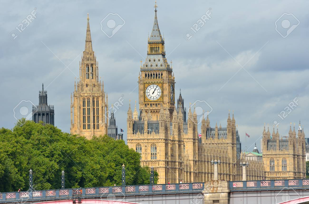London Parliament Stock Photo - 15542421