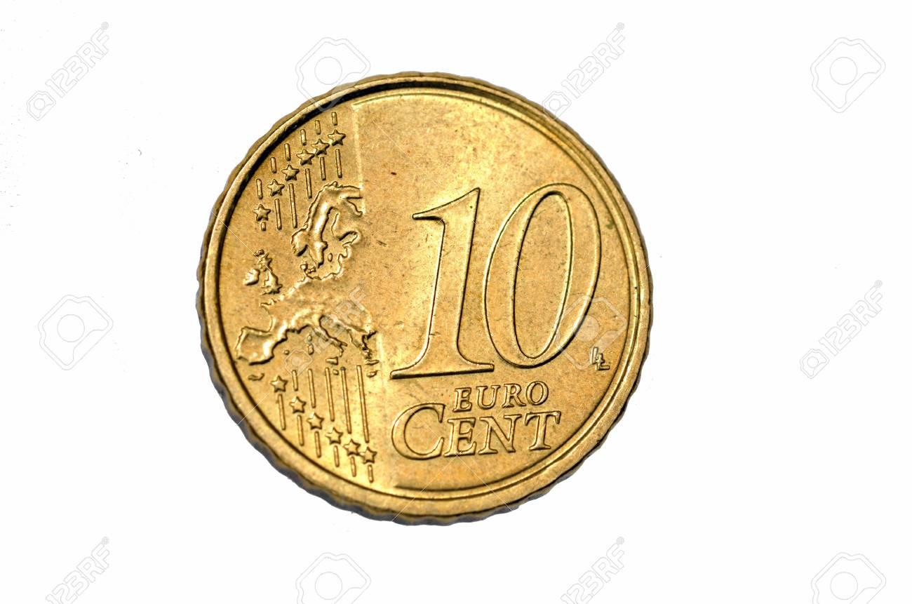Ten Cent Euro Coin Stock Photo - 18583183