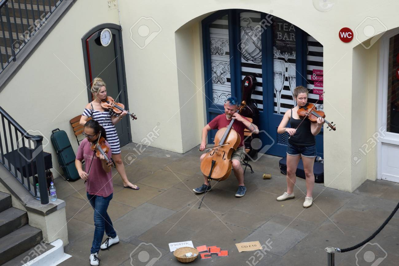 Covent Garden London England, United Kingdom - August 16, 2016:
