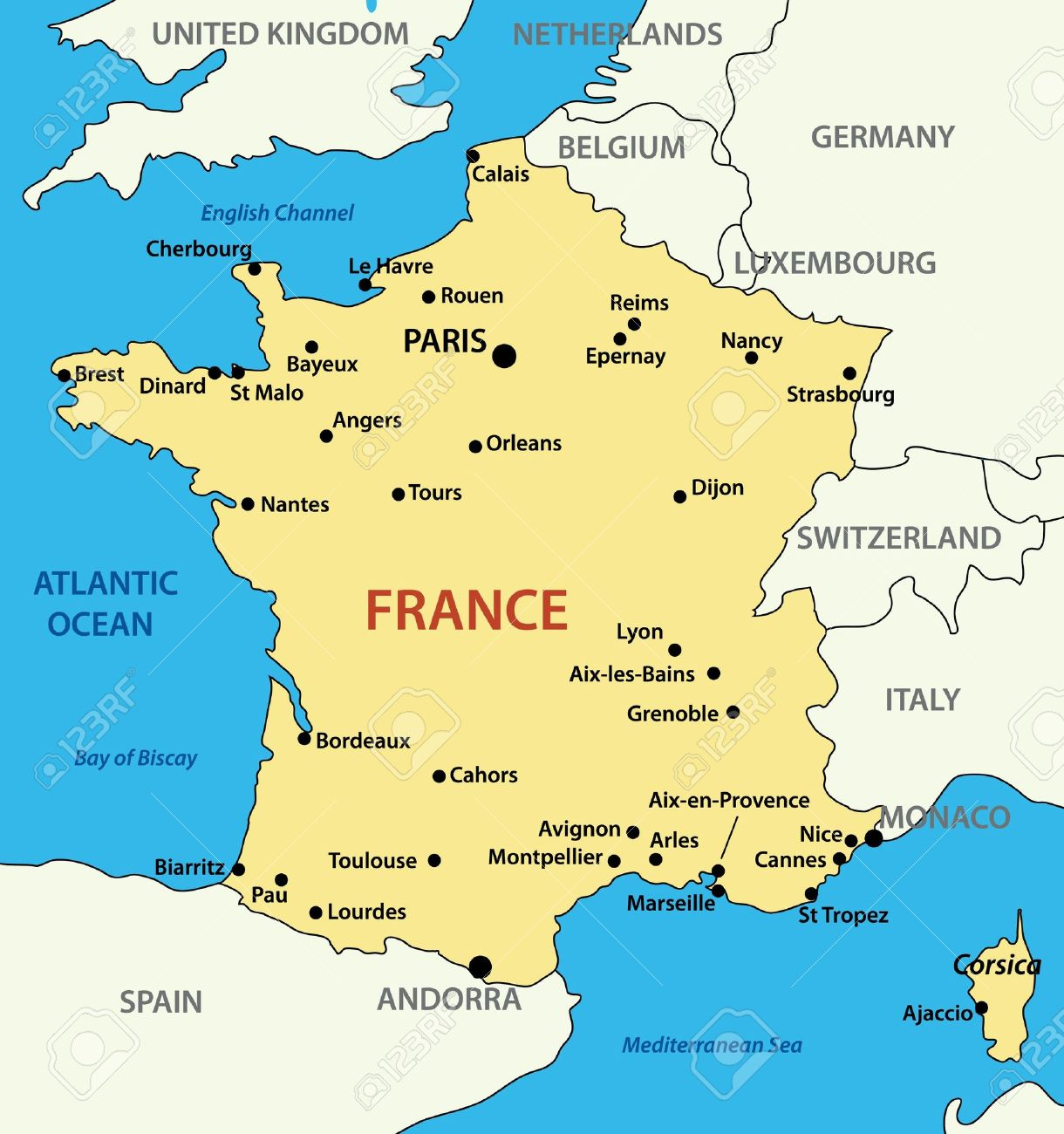Map of france royalty free cliparts vectors and stock illustration map of france stock vector 10585789 gumiabroncs Images