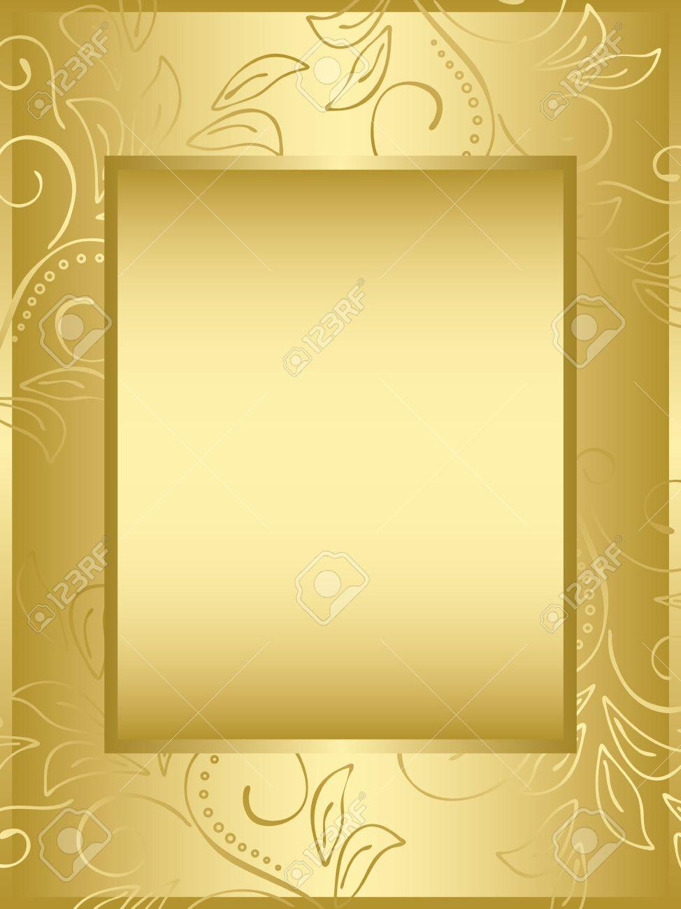 Vector Golden Frame