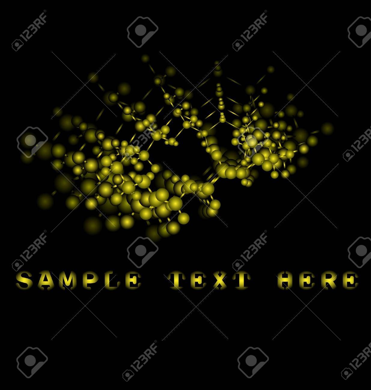 Scientific design Stock Vector - 5089892