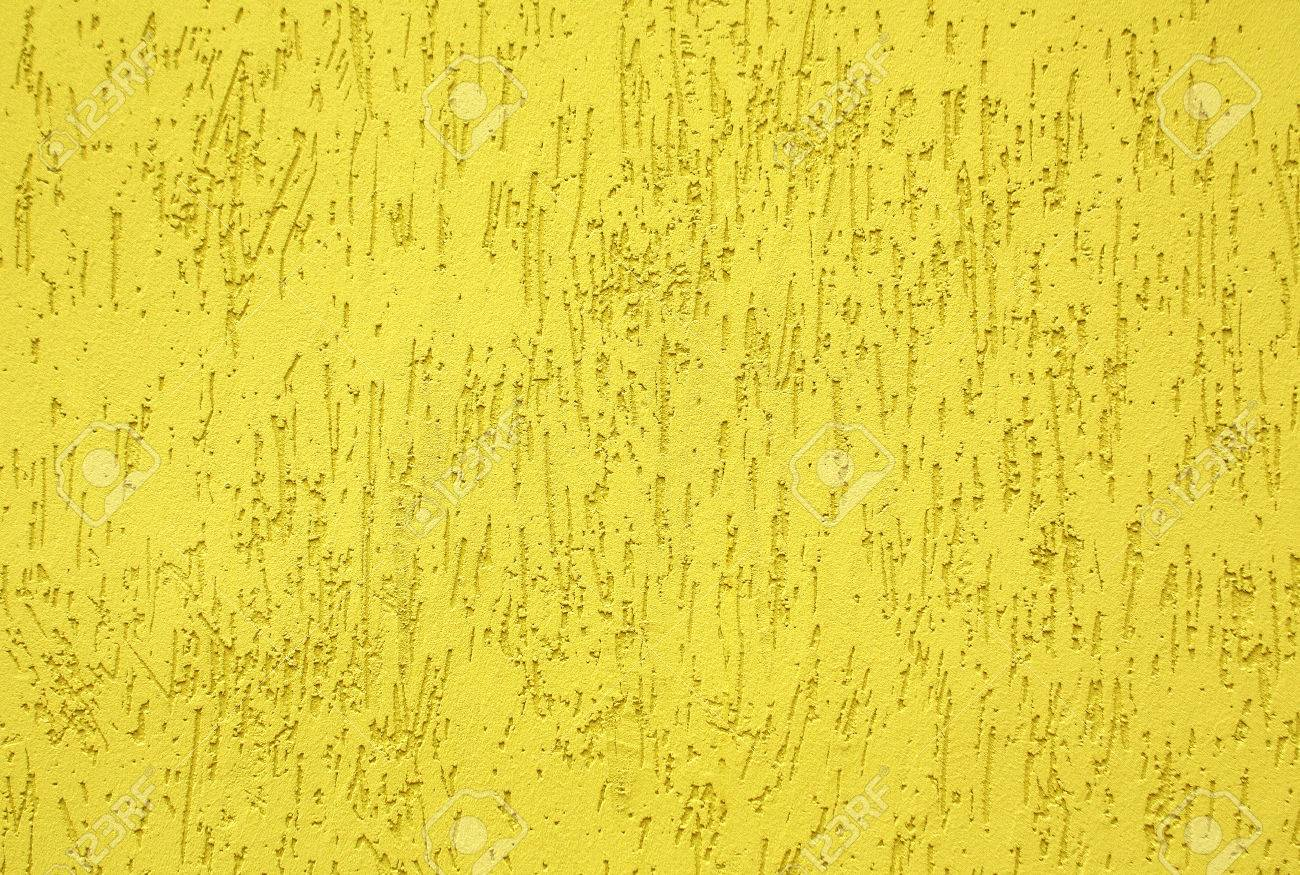 Yellow Color Wall Texture. Architectural Background. Stock Photo ...