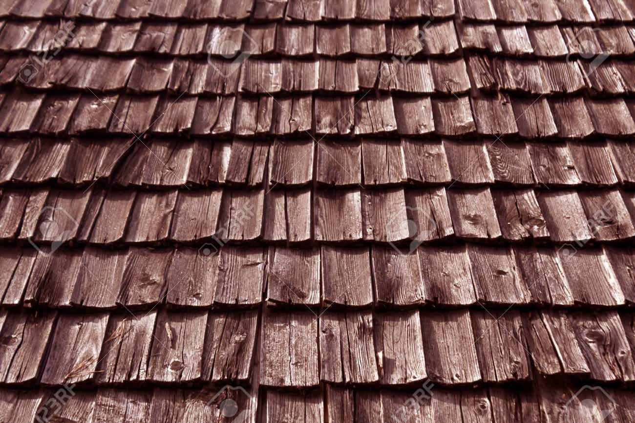 Weathered Wooden Tile Roof Texture Abstract Background And Texture Stock Photo Picture And Royalty Free Image Image 65321546