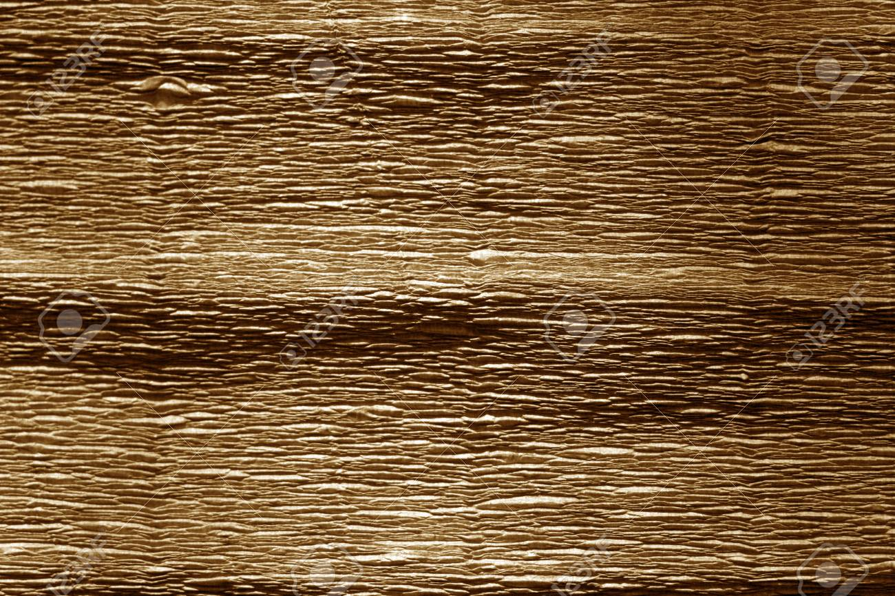 Brown Color Crepe Paper Abstract Background And Texture For Stock