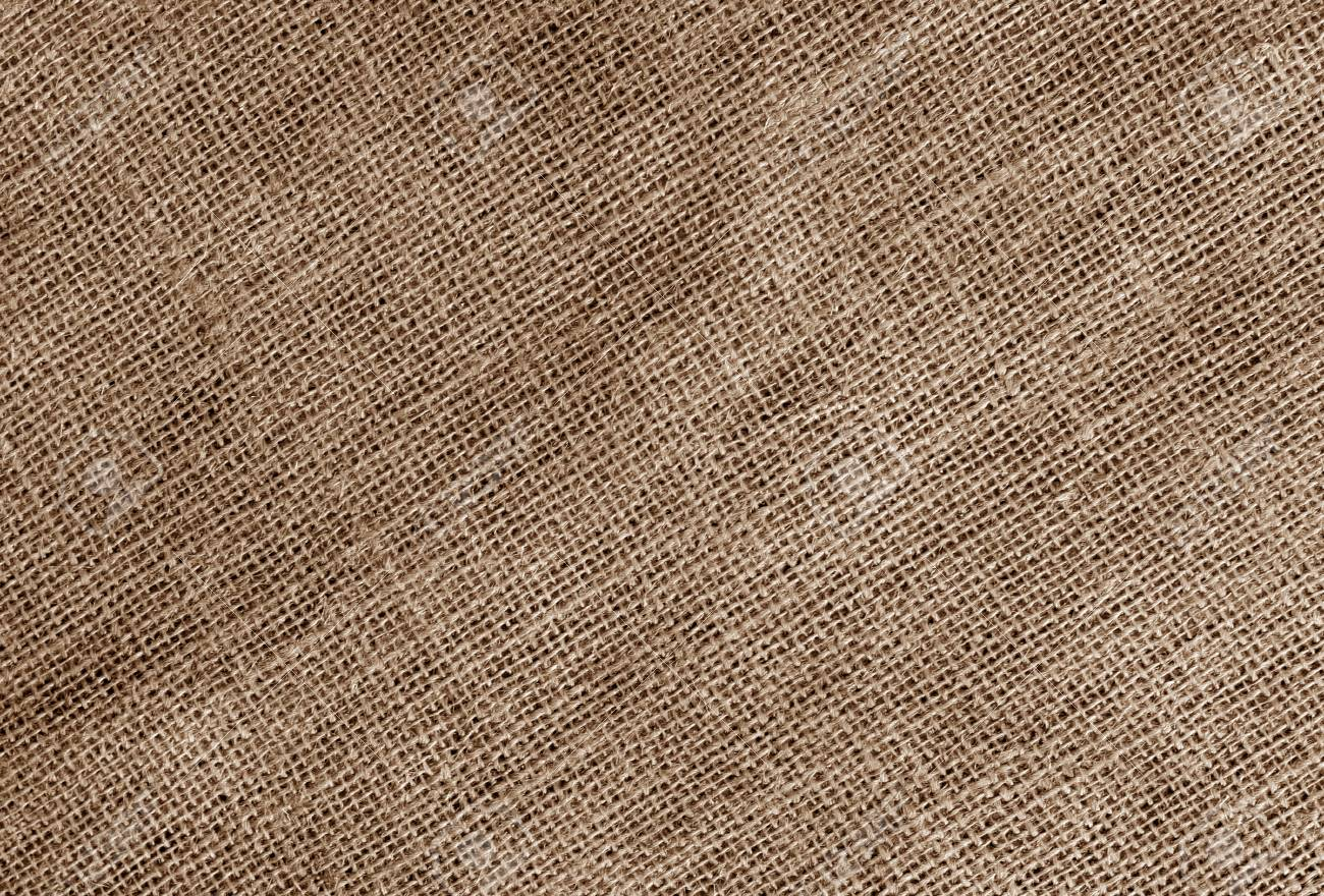 Linen cloth texture in brown color  Abstract background and texture