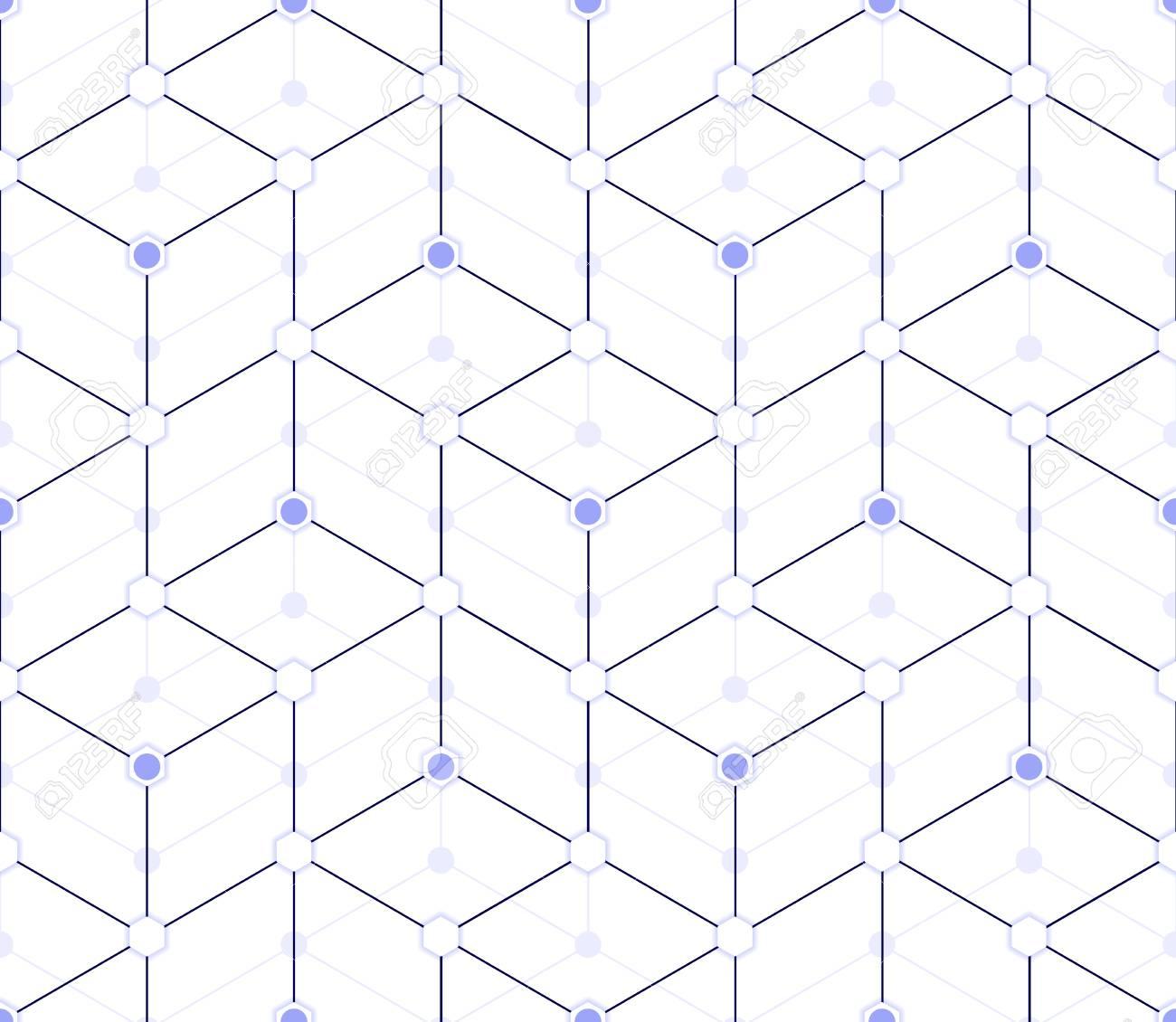 Patrón Transparente De Múltiples Capas En Tonos Azules, En Forma De ...