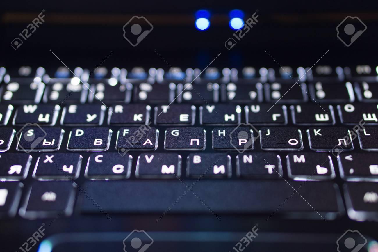 Letter symbols keyboard images symbol and sign ideas closeup of black notebook laptop keyboard with english and russian closeup of black notebook laptop keyboard biocorpaavc