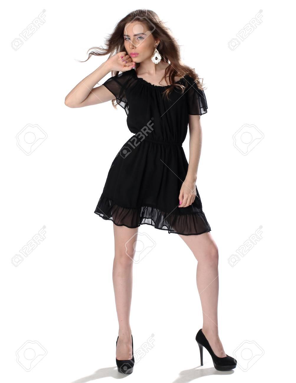Robe noir petite fille