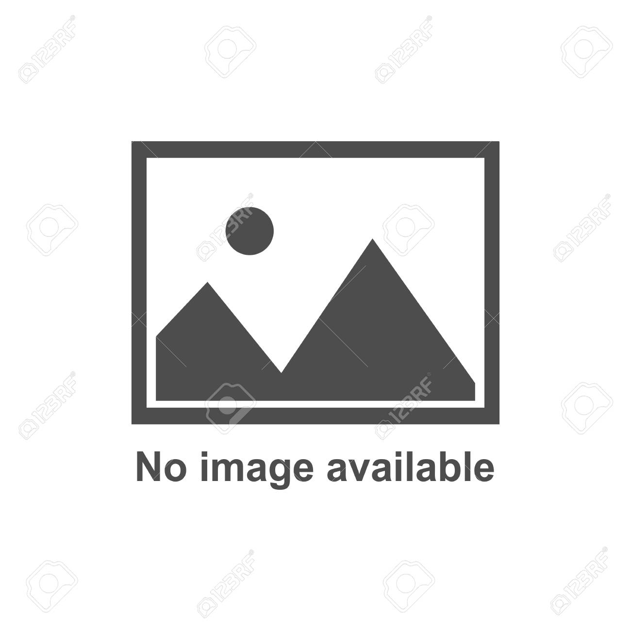 No image available icon. Vector flat - 124934975