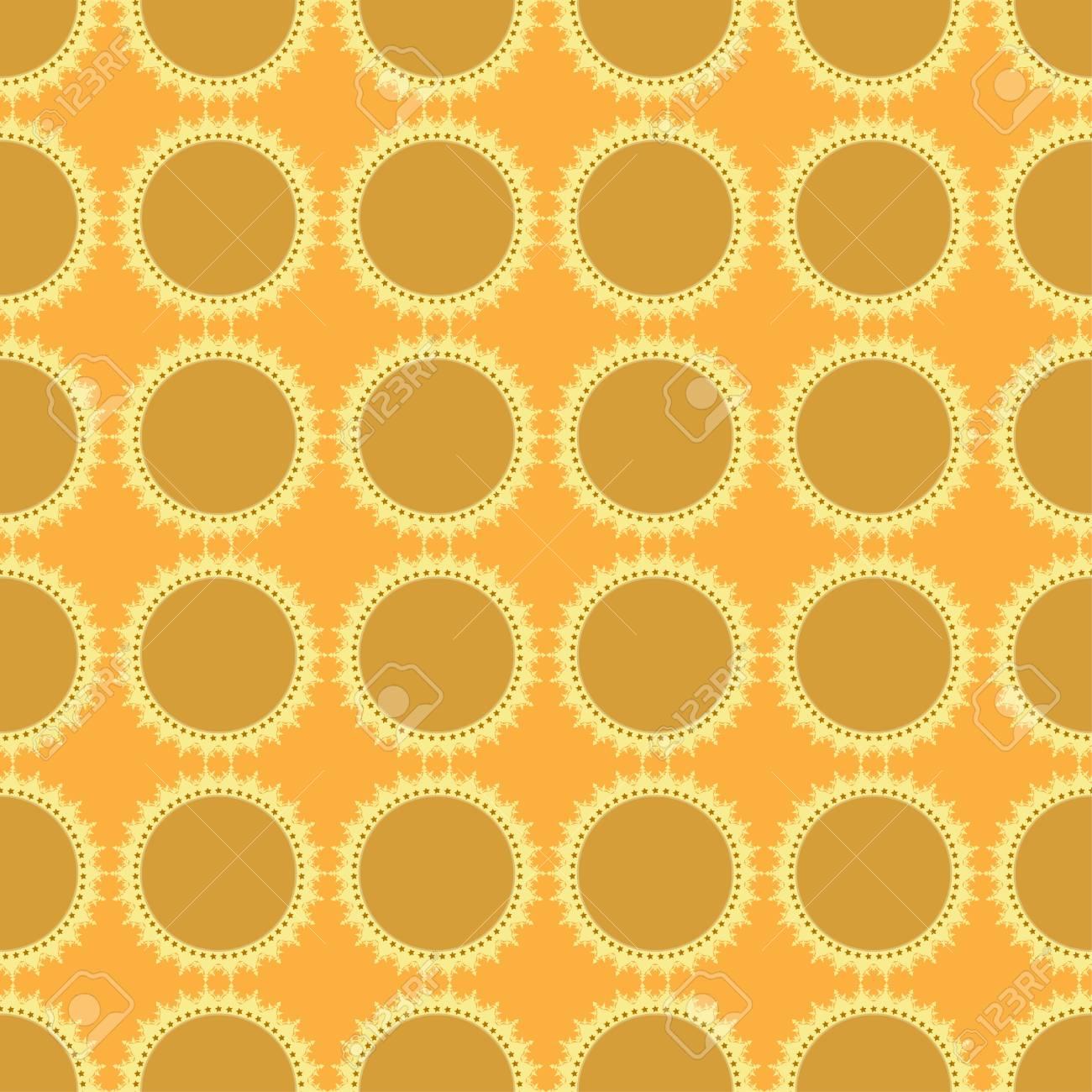 seamless wallpaper Stock Vector - 16599710