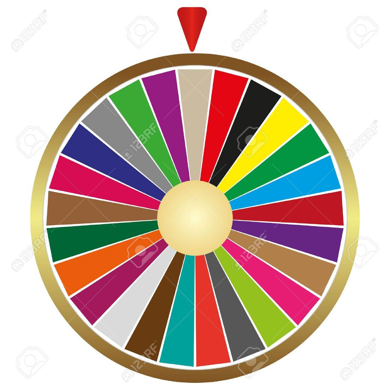 Wheel of fortune Stock Vector - 16718121