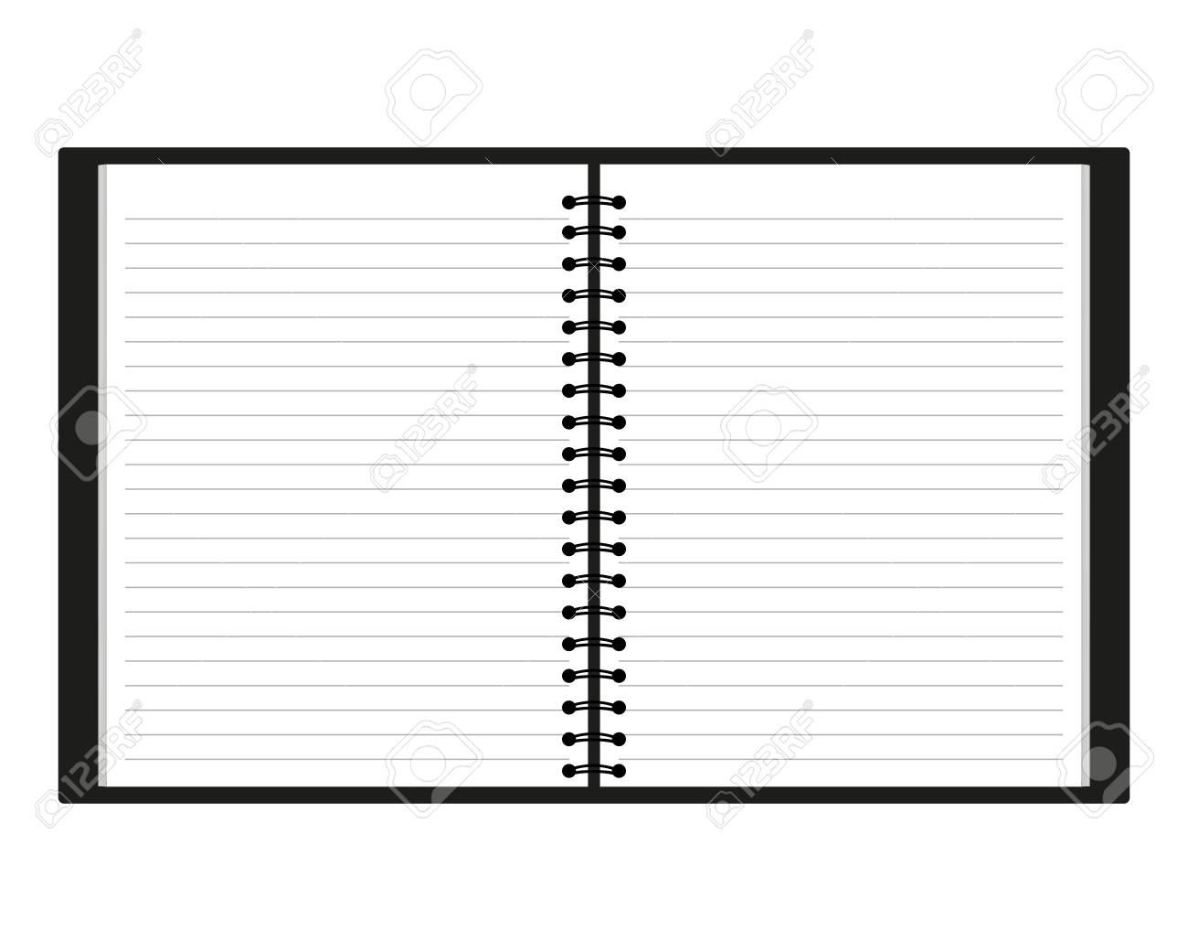 notebook Stock Vector - 16718122