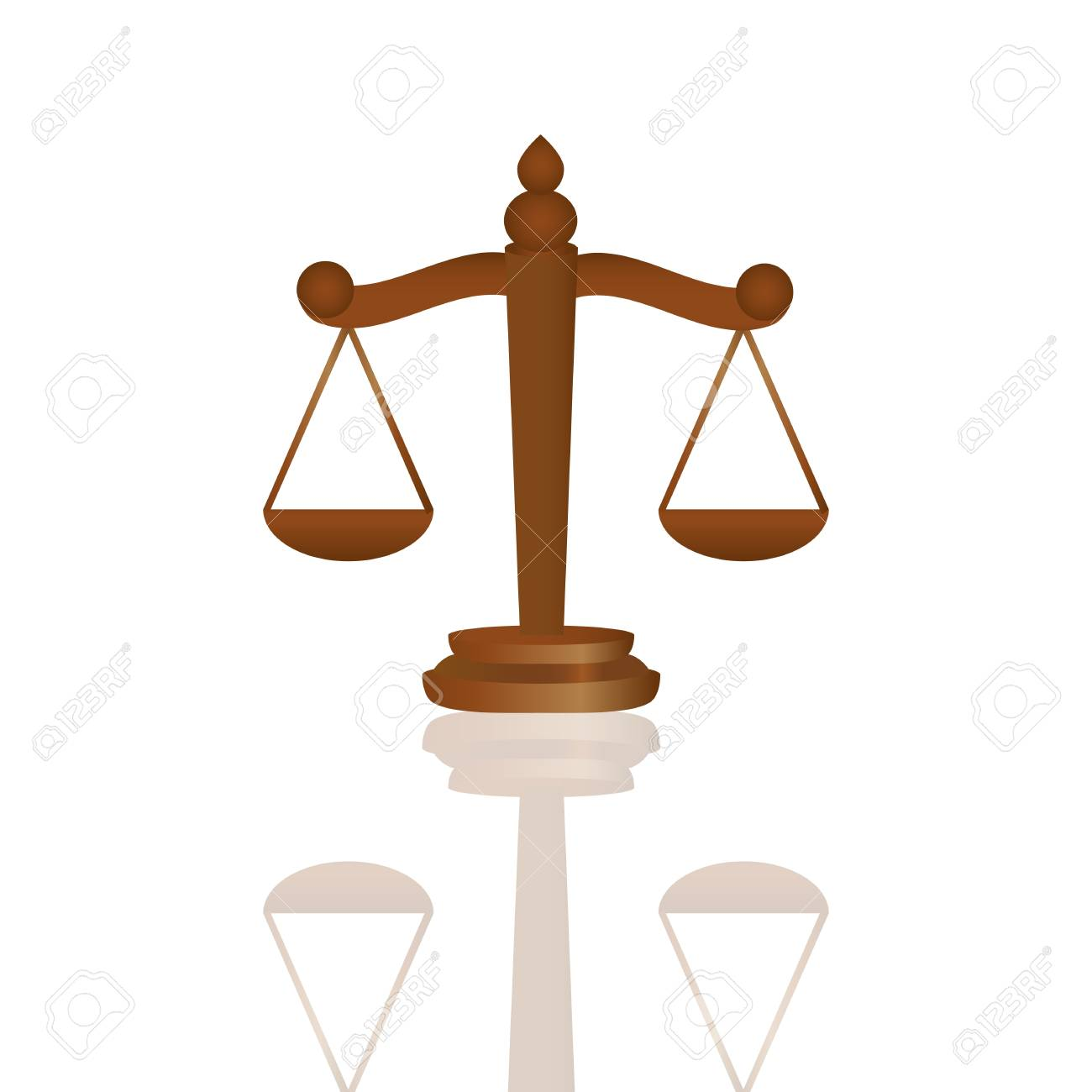 Scales of Justice Stock Vector - 16973750