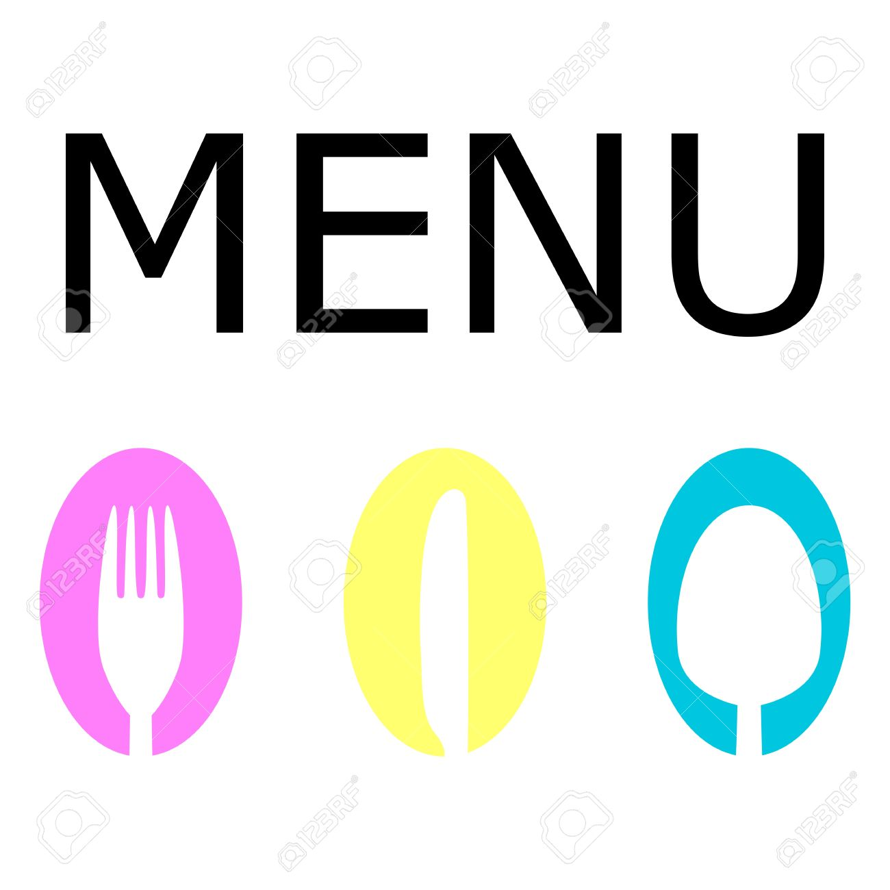 logo for the restaurant menu royalty free cliparts, vectors, and