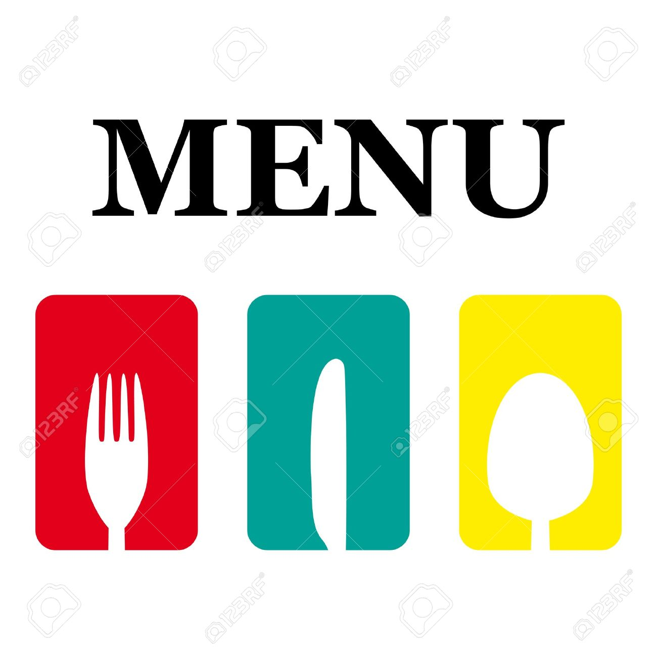 logo menu Stock Vector - 17883291