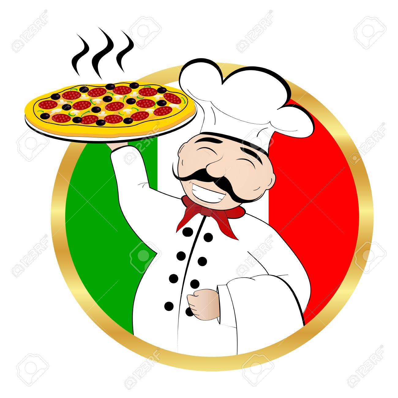 Pizza Chef Vector Pizza Chef Pizza Chef
